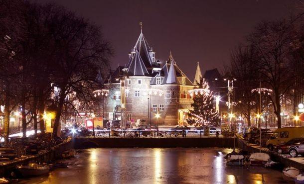 Χριστουγεννιάτικο Άμστερνταμ