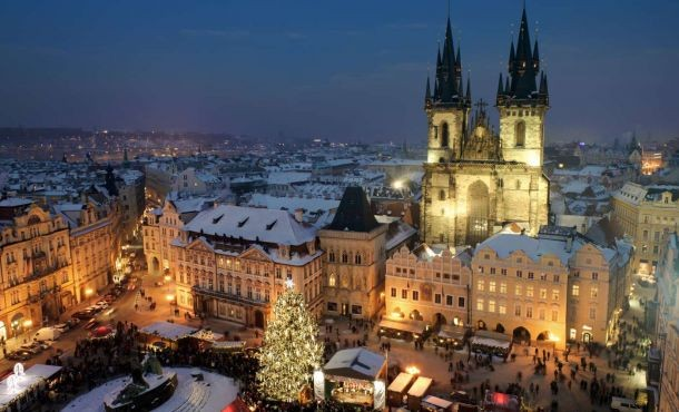 Πράγα - Χριστούγεννα