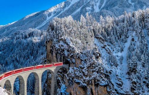 Πανόραμα Ελβετίας - Αλπικό Τρένο (Χριστούγεννα - Πρωτοχρονιά - Φώτα)