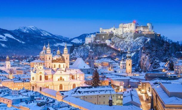 Βουδαπέστη-Βιέννη-Μπρατισλάβα- Βελιγράδι Χριστούγεννα