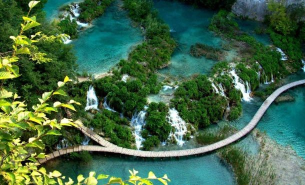 Πανόραμα Κροατίας Σλοβενίας Λίμνες Πλίτβιτσε