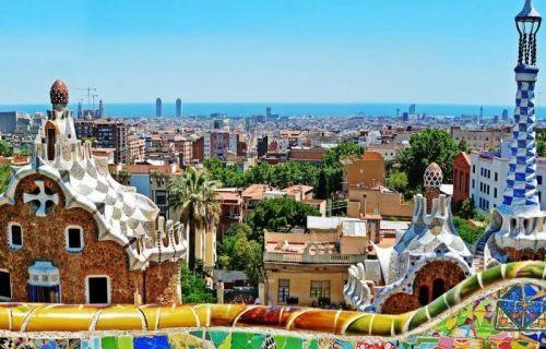 Βαρκελώνη η πόλη του Γκαουντί 28η Οκτωβρίου