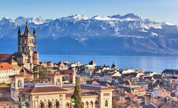 Glamour Ελβετία -Αλπικό τρένο -  λίμνες Β.Ιταλίας Xmas