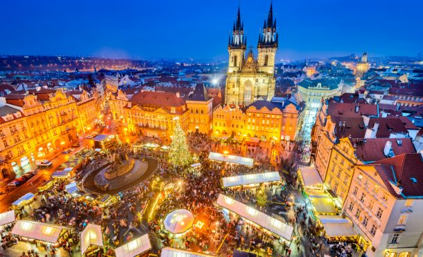 Πανόραμα Κεντρικής Ευρώπης 6ημ (Πράγα – Βιέννη – Μπρατισλάβα-Βουδαπέστη) ,αεροπορικώς  28η  Οκτωβρίου