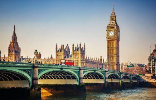 Λονδίνο 5,6 ημέρες από Θεσσαλονίκη